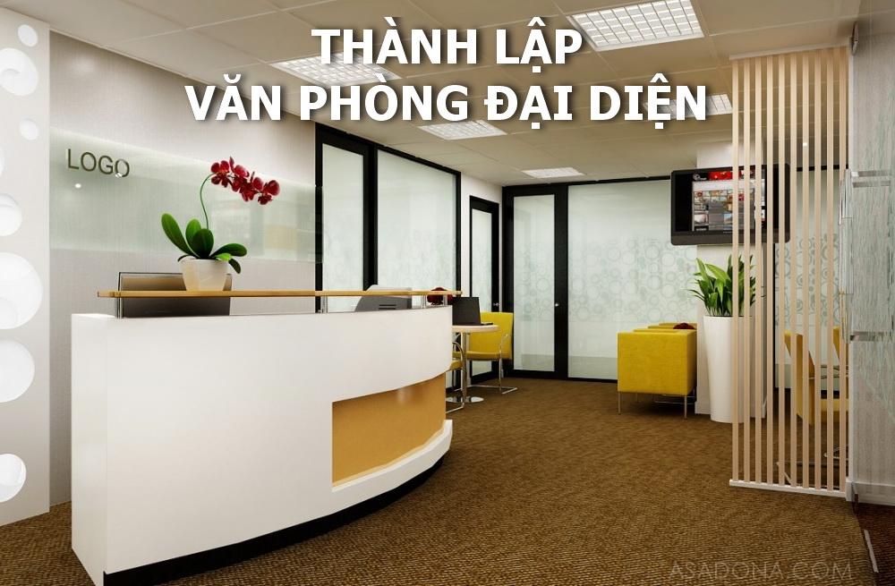 Thành lập văn phòng đại diện công ty nước ngoài